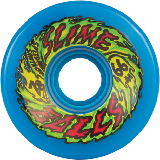 SC SLIMEBALLS 66mm 78a NEON BLUE (Set of 4)