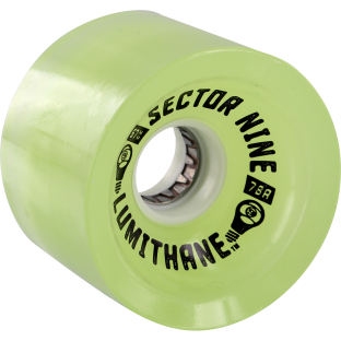 SEC9 9 LUMITHANE 67mm 78a GLOW/LED GREEN (Set of 4)
