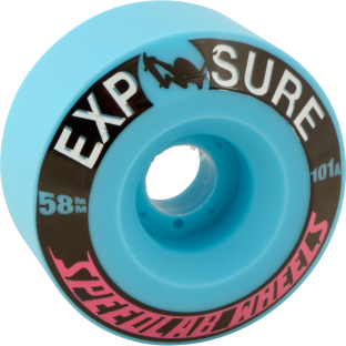SPEEDLAB EXPOSURE 58mm 101a BLUE (Set of 4)