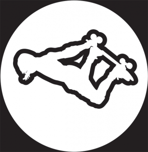 AMERICAN SKATEBOARD METHOD WHT STICKER single
