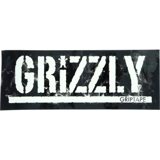 GRIZZLY STAMP HOT BOX DECAL 1pc