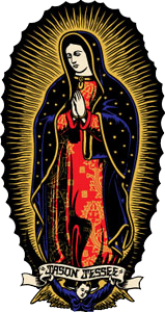 """SC JESSEE GUADALUPE 3.5X6.5"""" DECAL"""