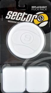SEC9 6pc CIRCULAR PUCK PACK-WHT (2xPALM 4xFINGER)