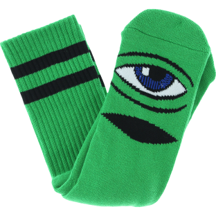 TM SECT EYE III CREW SOCKS-KELLY GREEN 1 pair