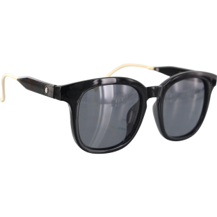 GLASSY CURRAN SIG POLARIZED BLK/GOLD SUNGLASSES
