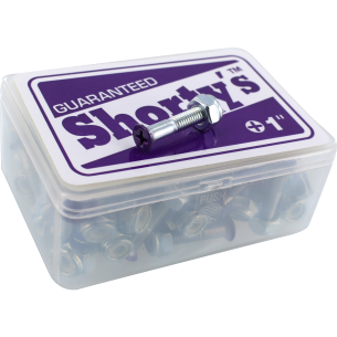 "SHORTY'S 1"" PURPLE 65/SET PHILIPS HARDWARE"