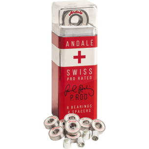 ANDALE PROD SWISS PEN BOX BEARING SET WHT/RED/SIL