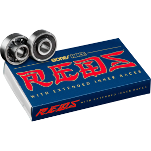 BONES RACE REDS (SINGLE SET) BEARINGS