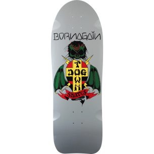 DOGTOWN BORN AGAIN REISSUE DECK-10x30 GREY