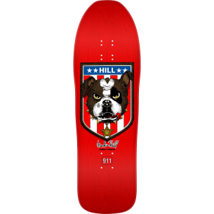 PWL/P HILL BULLDOG DECK-10x31.5 RED