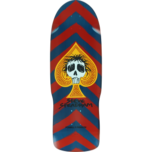 PWL/P STEADHAM SPADE 09 DECK-10x30.1 RED/BLUE
