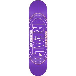 REAL RENEWAL OVAL DECK-7.56 PURPLE ppp