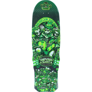 SHIPYARD SWF AMERICAN DREAM DECK-9.5x32.25 GREEN