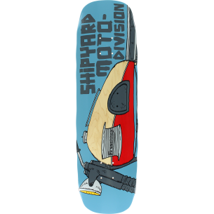 SHIPYARD FENNESSEY MOTO DIVISION DECK-8.75x32.5