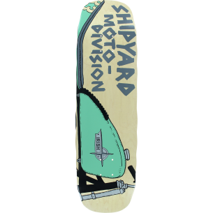 SHIPYARD IRISH MOTO DIVISION DECK-8.75x32.5