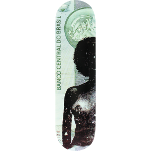 SKATE MENTAL CURTAIN DADS MONEY DECK-8.0