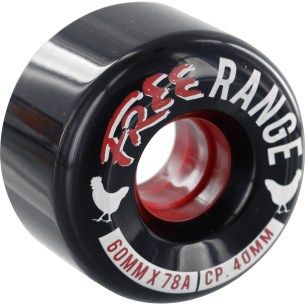 FREE RANGE 60mm 78a BLACK (Set of 4)