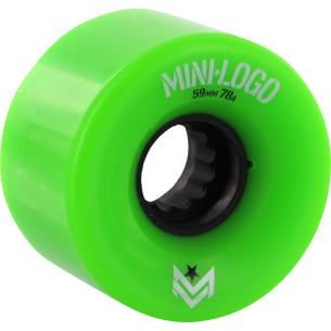 MINI LOGO A-CUT 59mm 78a GREEN A.W.O.L. ppp (Set of 4)