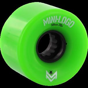 MINI LOGO A-CUT 59mm 78a GREEN A.W.O.L. ppp (Set of 4)