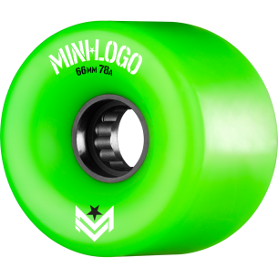 MINI LOGO A-CUT 66mm 78a GREEN A.W.O.L. ppp (Set of 4)