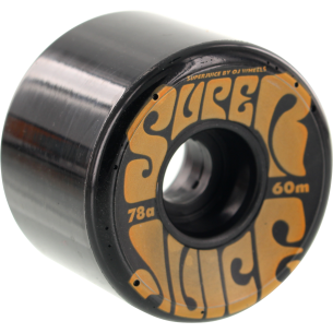 OJ SUPER JUICE 60mm 78a BLK/ORG (Set of 4)