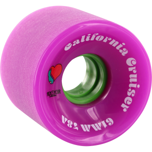 REMEMBER CALIFORNIA CRUISER 61mm 78a PINK/GRN (Set of 4)