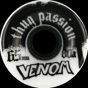 VENOM THUG PASSION 65mm 80a WHT/BLK (Set of 4)