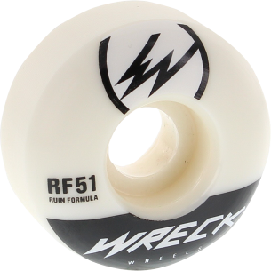 WRECK W1 51mm 101a WHT/BLK (Set of 4)