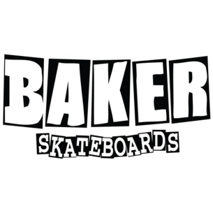 BAKER BRAND LOGO LG DECAL assorted
