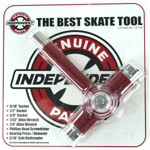 INDE BEST SKATE TOOL RED