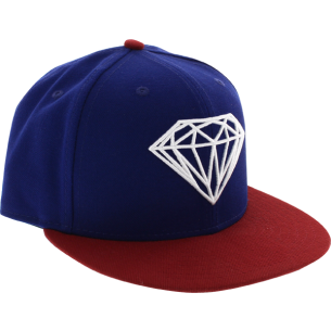 DIAMOND BRILLIANT HAT 7-5/8 ROYAL/RED sale