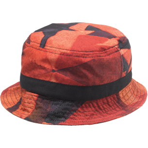 DIAMOND SIMPLICITY BUCKET HAT S/M-RED sale