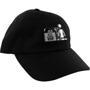 GIRL X SUB POP HAT ADJ-BLACK