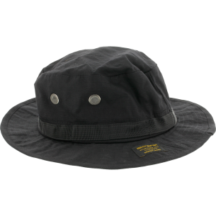 GRIZZLY ESTABLISHED FISHERMANS HAT BLK