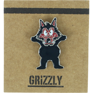 GRIZZLY WOLFPACK PIN