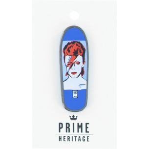 "PRIME LEE BOWIE BOARD LAPEL PIN 2"" BLUE"