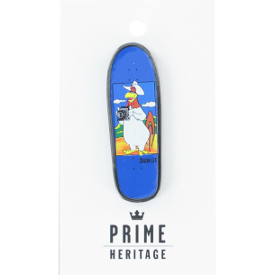"PRIME JASON LEE FOGHORN BOARD LAPEL PIN 2"" BLUE"
