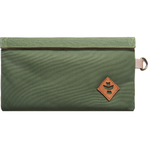REVELRY CONFIDANT MONEY BAG .5L GRN/BEIGE