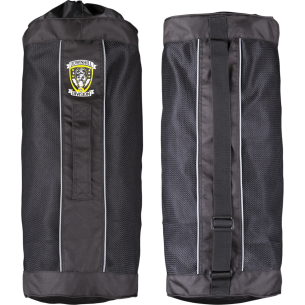 SEC9 BOMBER BAG RACE SUIT BAG BLACK