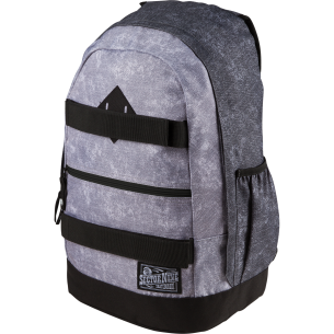 SEC9 VACAY BACKPACK GREY/BLK ACID WASH
