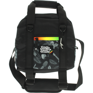SEC9 VACAY COOLER BAG GREY/RASTA