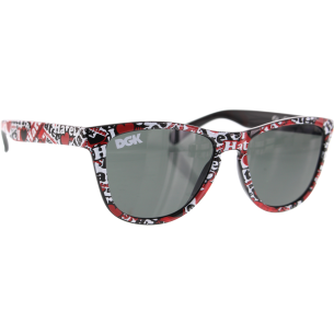 DGK HATERS TWO TONE SHADES COLLAGE RED